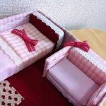 百均スポンジでリカちゃんベッドを自作!簡単、安くて、可愛い!