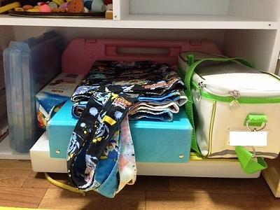 子供部屋の改造4:かさばる学用品をスッキリ収納するには