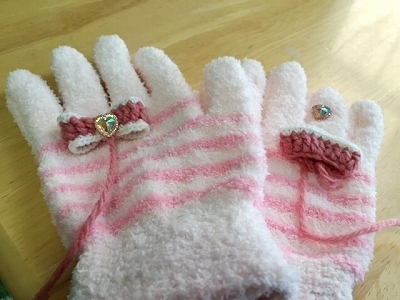 手袋リメイク