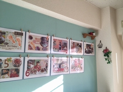 子供の写真を壁に!もっとも掃除しやすい百均商品とは?