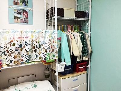子供部屋の改造5:劇的に散らからなくなった子供服収納