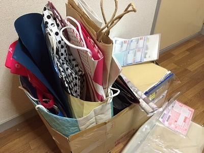 紙袋はどう片付ければリバウンドしないの?ワガママ収納のすすめ。
